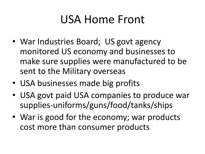 USA Home Front