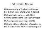 usa remains neutral