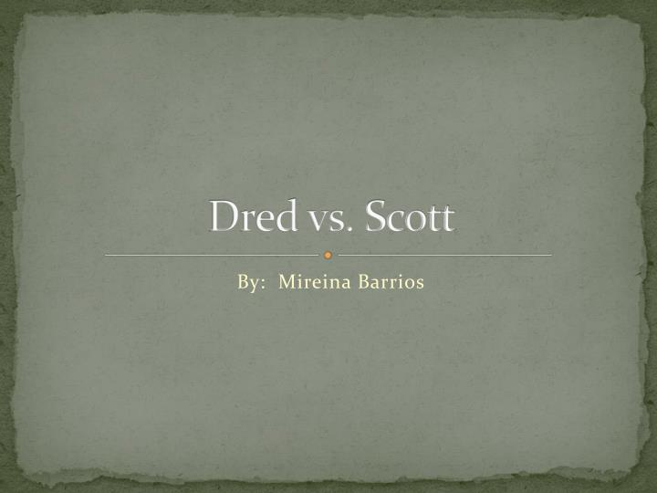 dred vs scott