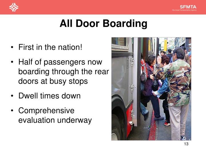 All Door Boarding
