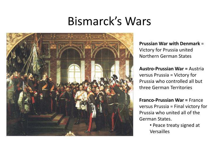Bismarck's Wars