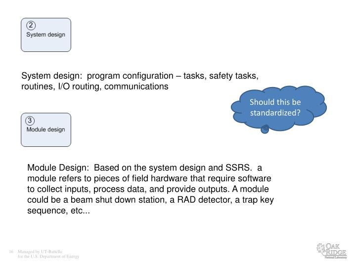 System design: