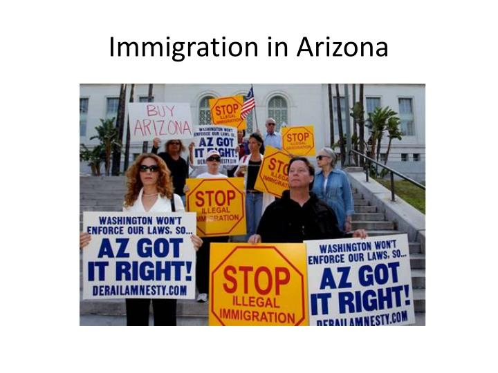 Immigration in arizona