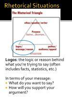 rhetorical situations1