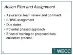 action plan and assignment