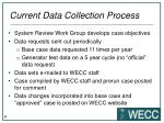 current data collection process