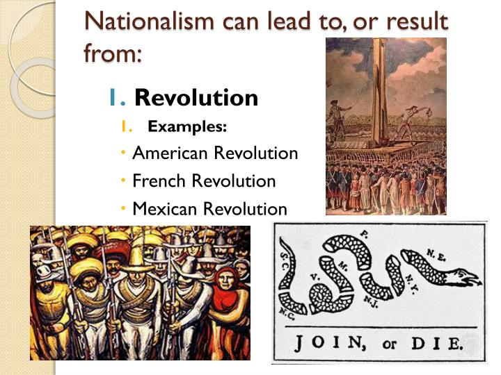 Nationalism can lead