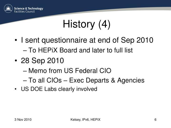 History (4)