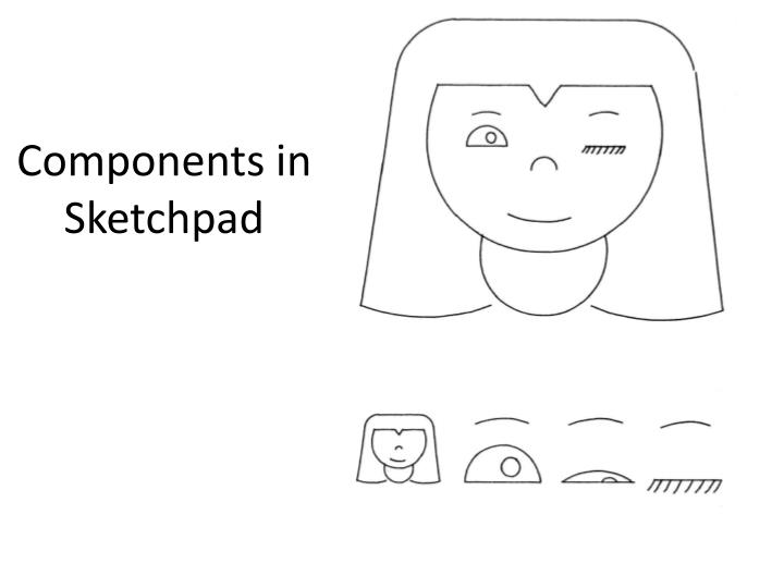 Components in Sketchpad