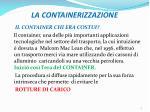 la containerizzazione