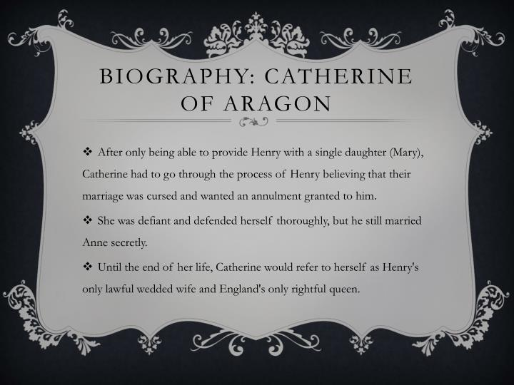 Biography catherine of aragon