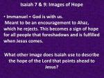 isaiah 7 9 images of hope