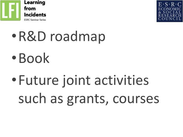 R&D roadmap