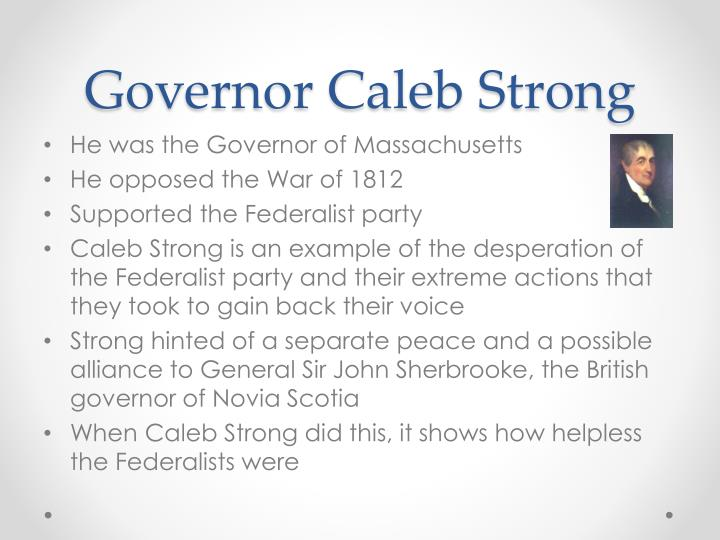 Governor Caleb Strong