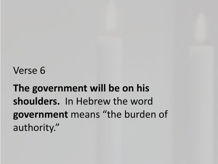 Verse 6