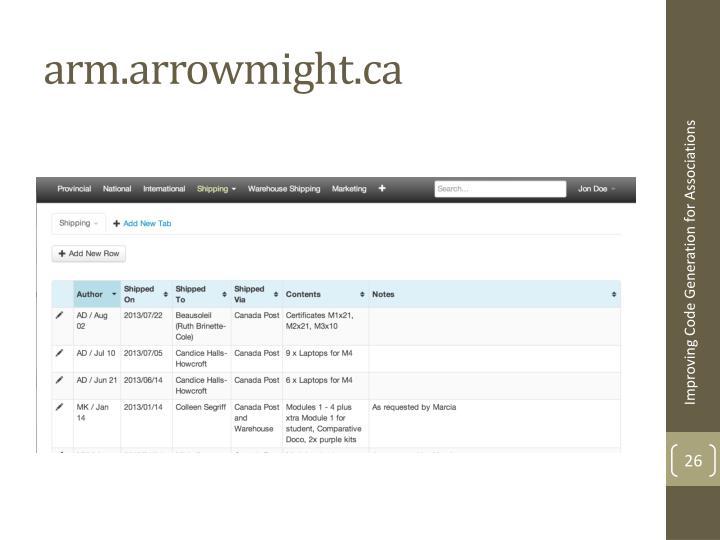 arm.arrowmight.ca