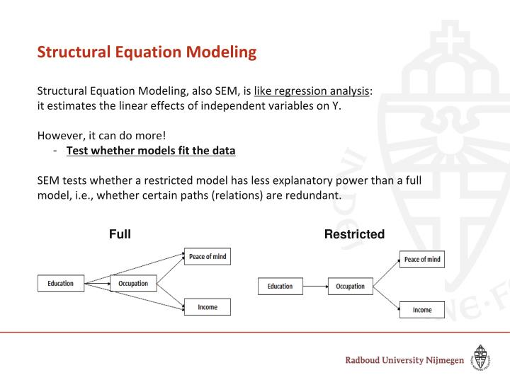 Structural Equation