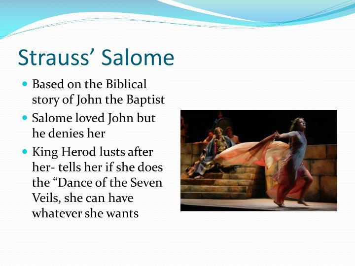 Strauss' Salome