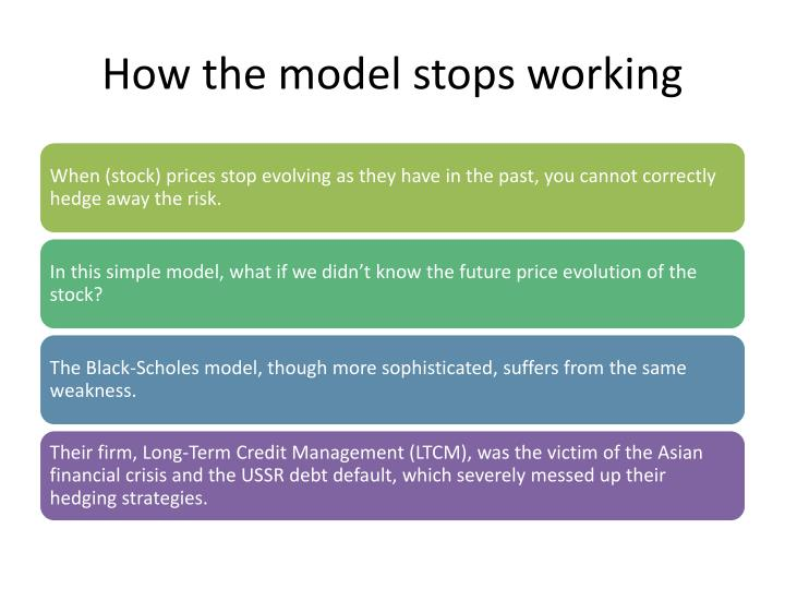 How the model stops working