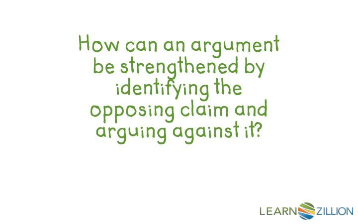 How can an argument be strengthened by