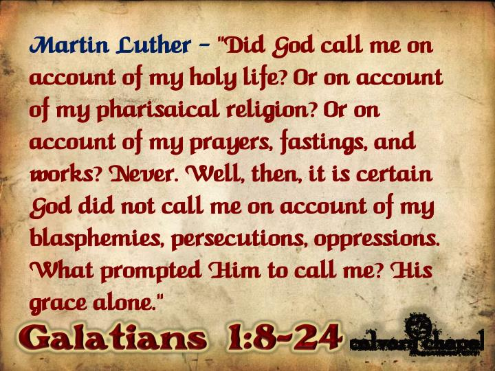 Martin Luther –