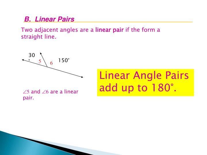 B.  Linear
