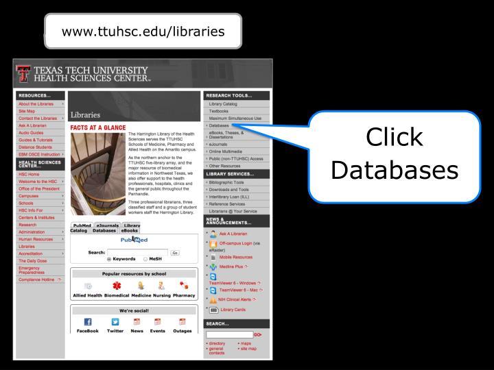 www.ttuhsc.edu