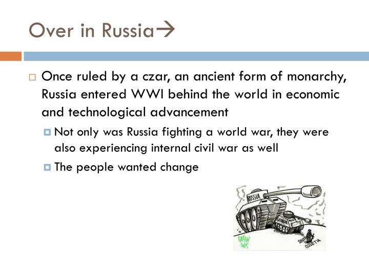 Over in Russia