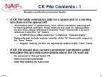 ck file contents 1