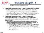 problems using ck 4