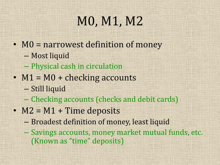 M0, M1, M2