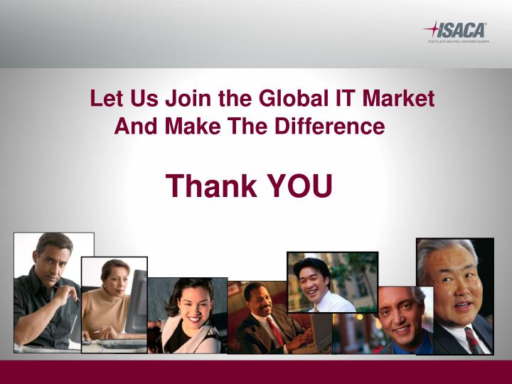 Let Us Join the Global IT Market