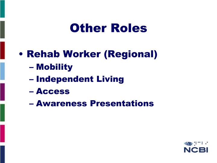 Other Roles