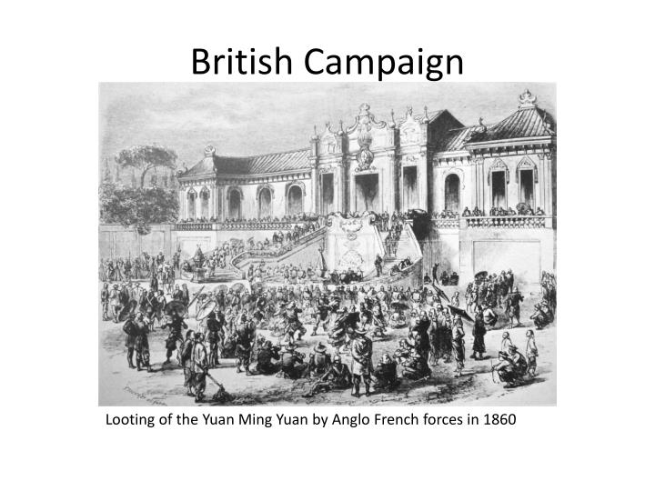 British Campaign