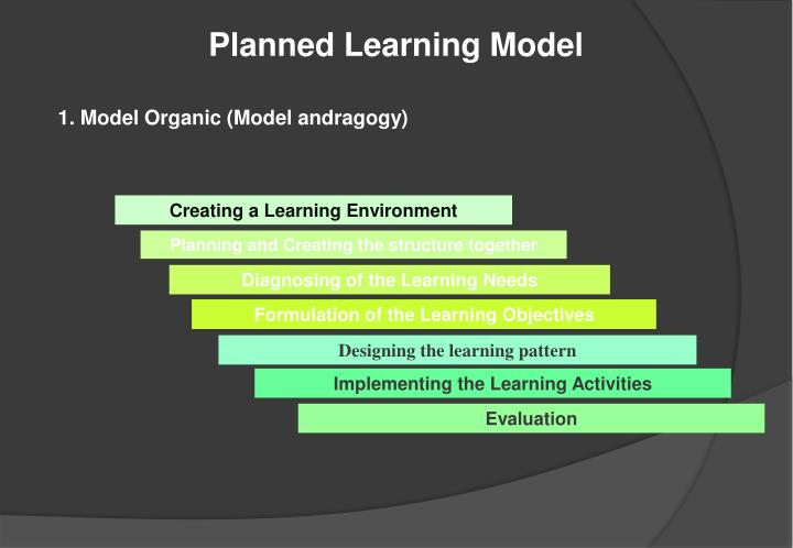 Planned Learning Model