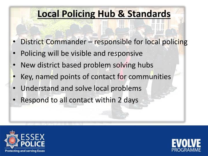 Local Policing Hub &