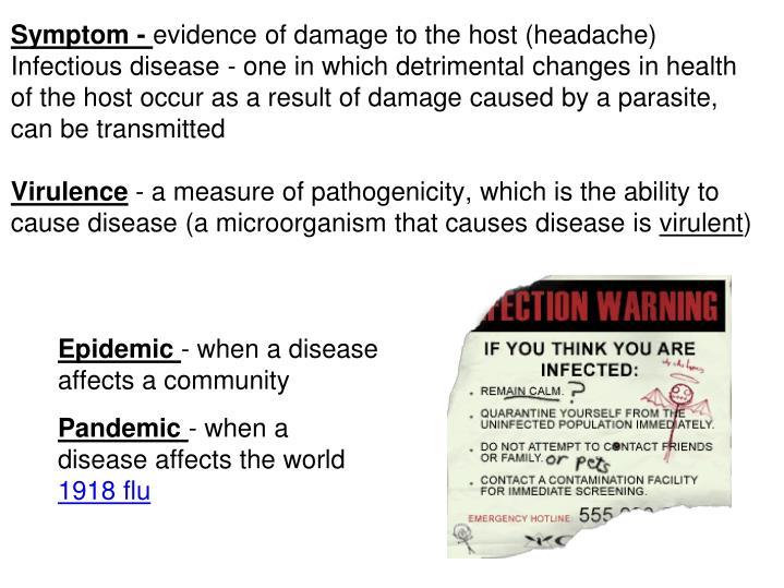 Symptom -