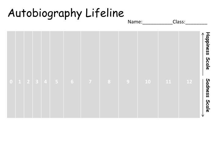 Autobiography Lifeline