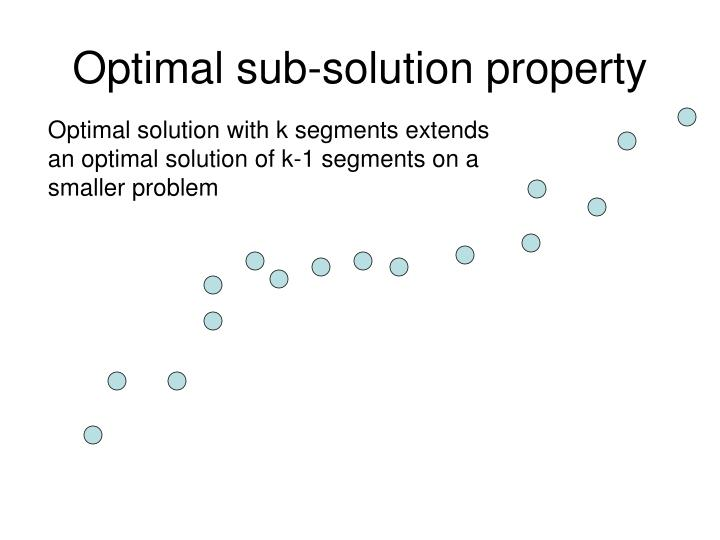 Optimal sub-solution property