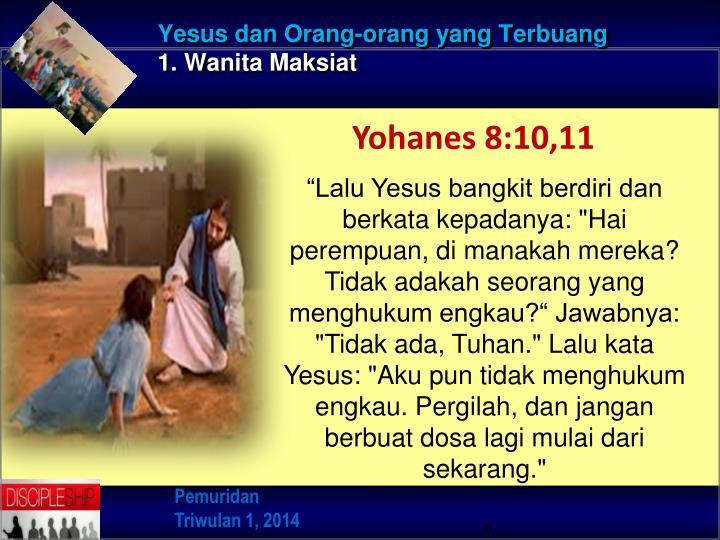 Yesus dan Orang-orang yang Terbuang