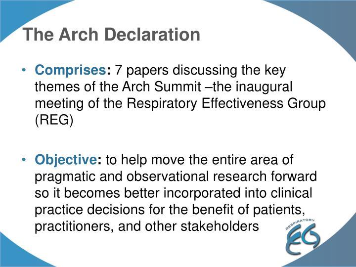 The Arch Declaration
