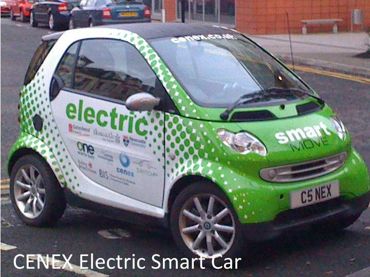 CENEX Electric Smart Car