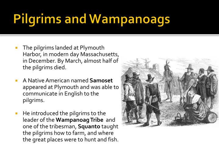 Pilgrims and