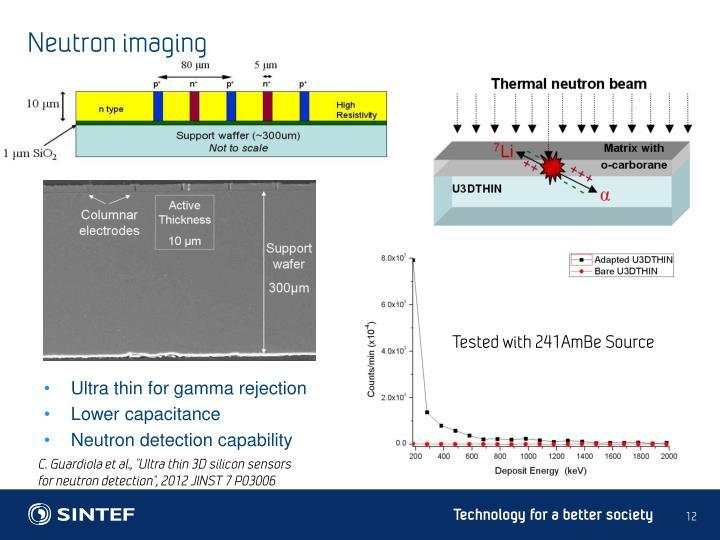 Neutron imaging