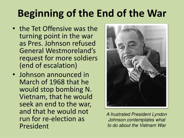 Beginning of the End of the War