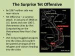 the surprise tet offensive