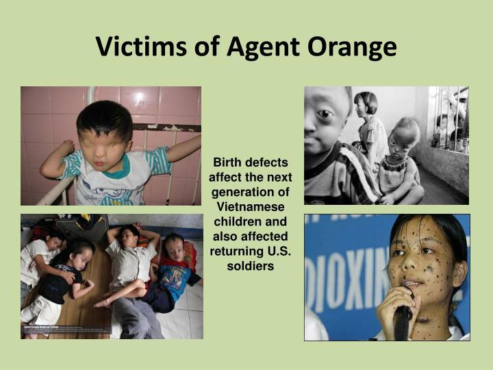 Victims of Agent Orange