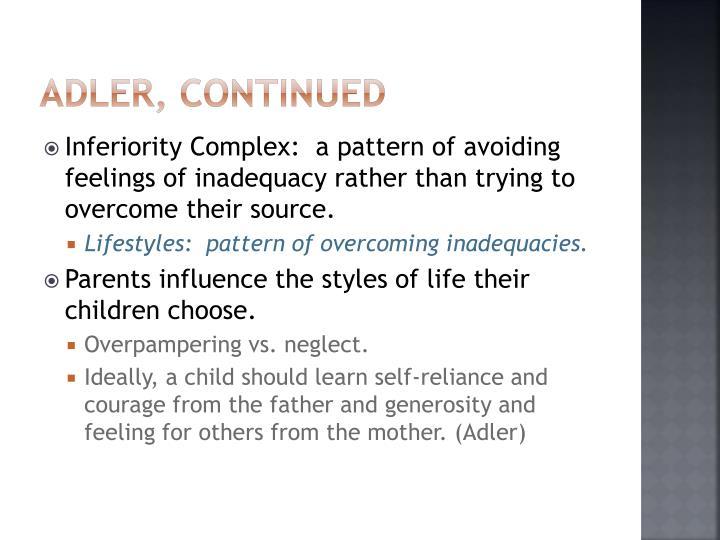 Adler, continued
