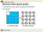 abstract state space graph