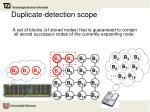duplicate detection scope1